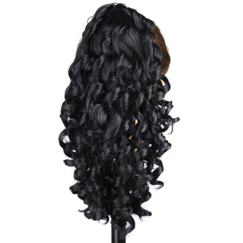 Graceful Capless Trendy Heat Resistant Synthetic Long Curly Women's Ponytail -