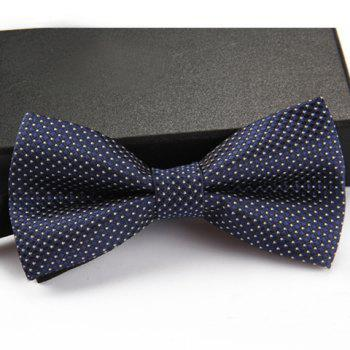 Stylish Small Dots Pattern Men's Bow Tie