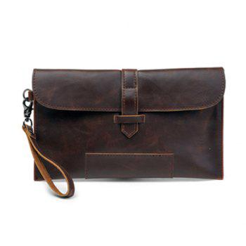 Retro Style Cover and Envelope Design Clutches For Men
