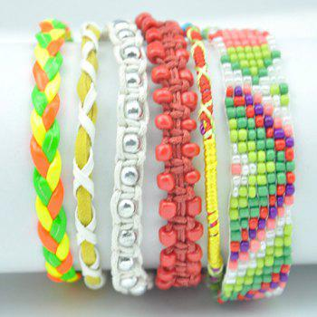 Bead Magnetic Closure Bracelet