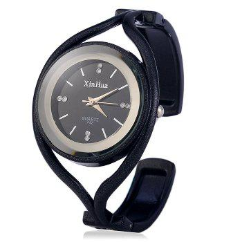 Xinhua 742 Female Quartz Bracelet Watch with Alloy Strap