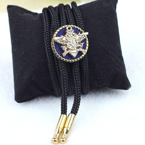 Stylish Special Shape Alloy Embellished Bolo Tie For Men