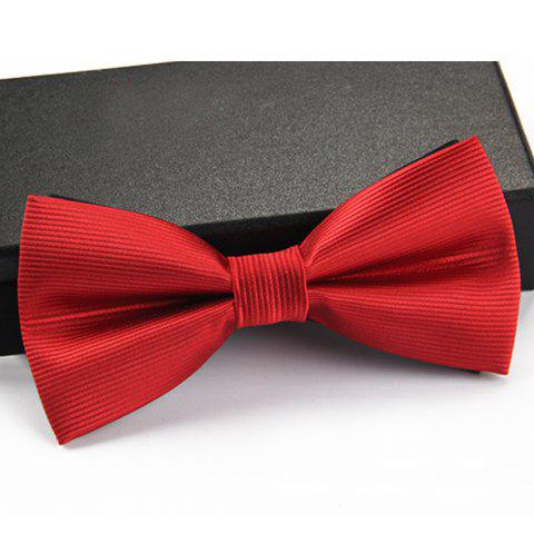 Stylish Horizontal Stripe Pattern Bow Tie For Men