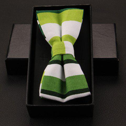 Stylish Various Stripe Pattern Bow Tie For Men - AS THE PICTURE