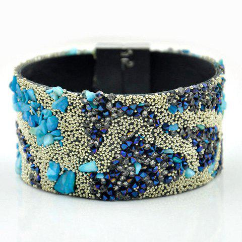 Beads Wide Beach Bracelet - COLORMIX