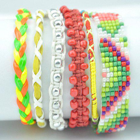 Bead Magnetic Closure Bracelet - COLORMIX