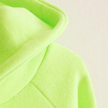 Casual Color Block Hooded Long Sleeve Hoodie For Women - ONE SIZE(FIT SIZE XS TO M) ONE SIZE(FIT SIZE XS TO M)