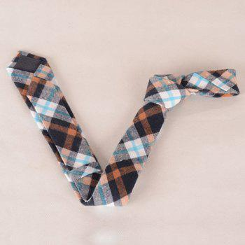 Stylish Simple Tartan Pattern Men's Tie -  CHECKED