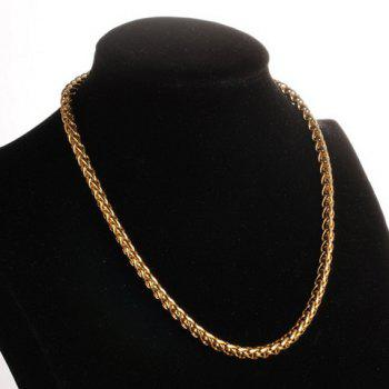 Chunky Gold Plated Chain Necklace