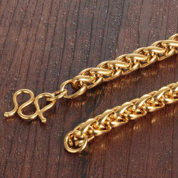 Chunky Gold Plated Chain Necklace - GOLDEN