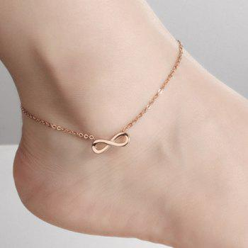 Delicate Infinity Fancy Anklets