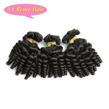 Prevailing Baby Curl Natural Black Women's 5A Indian Remy Hair Weave 4 Pcs/Lot - 12INCH*12INCH*14INCH*14INCH 12INCH*12INCH*14INCH*14INCH