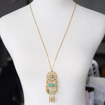 Tassel Pendant Hollow Out Sweater Chain