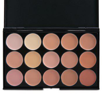 15 Colors Professional Salon Party Contour - COMPLEXION 1