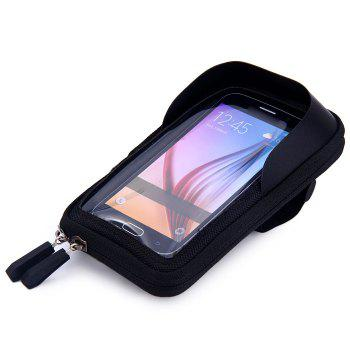 Sun-shaded Water Resistant Bicycle Handlebar Mounted Touch Screen Bag for 5.5 Inches Phones Like iPhone HUAWEI SAMSUNG