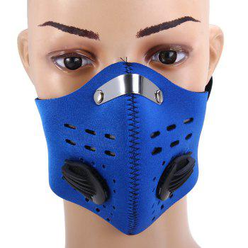 Protective Half Face Filter Mask with Activated Carbon for Open-air Activities