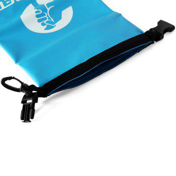 3.5L Ultra-light Water Resistant Bag Dry Pouch for Outdoor Drifting -  BLUE