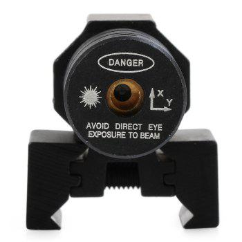 AT1000 Red Dot Laser Sight ( Press Switch Controlled ) with Integral Mount + Wrench - BLACK