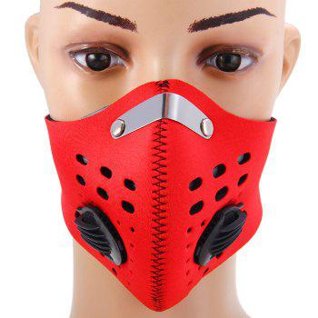 MLD Protective Half Face Filter Mask with Activated Carbon for Open-air Activities