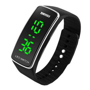 Skmei 1119 LED Sports Watch with Date Function Rubber Band