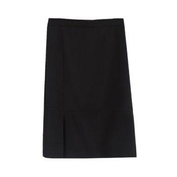 Stylish High Waisted Black Women's Bodycon Skirt