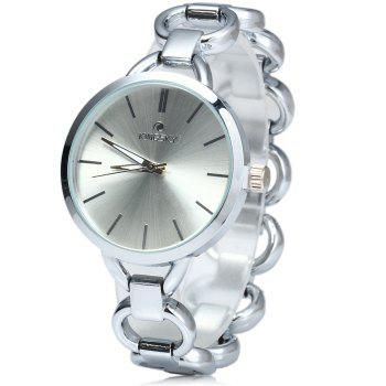 Kingsky 5156 Water Resistant Women Japan Quartz Watch with Stainless Steel Band IP Plating Case