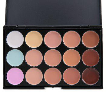 15 Colors Professional Salon Party Contour