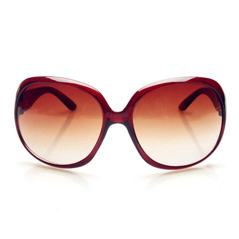 Chic Solid Color Big Frame Women's Sunglasses