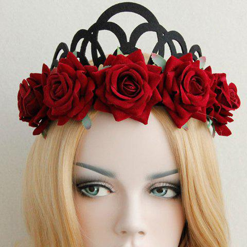 Queenly Flower Crown Garland For Women