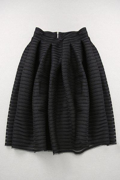 Stylish High Waisted Hollow Out A Line Women's Skirt