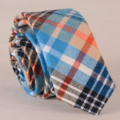 Stylish Various Color Plaid Pattern Men's Tie - AS THE PICTURE