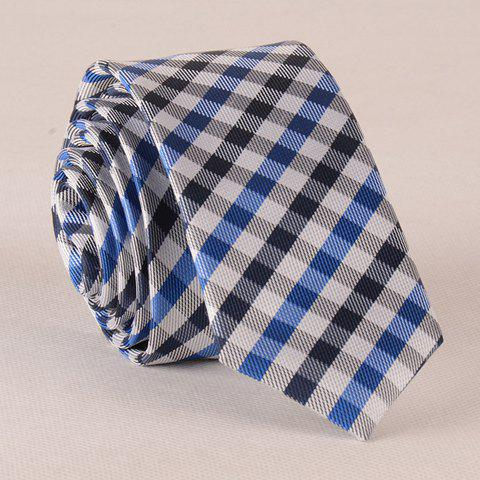 Stylish Tartan Pattern Color Splice Men's Tie graffiti pattern splice sneakers