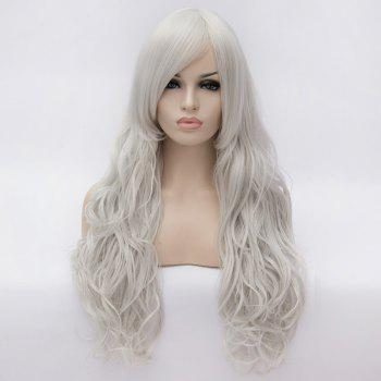 Fashion Centre Parting 80CM Fluffy Long Wavy Heat Resistant Fiber Universal Capless Women's Wig