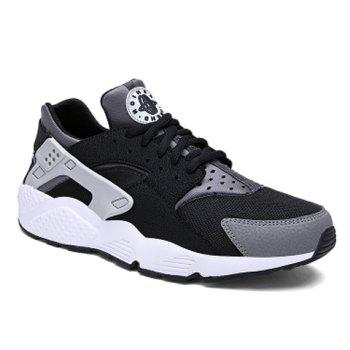 Fashionable Mesh and Color Block Design Athletic Shoes For Men