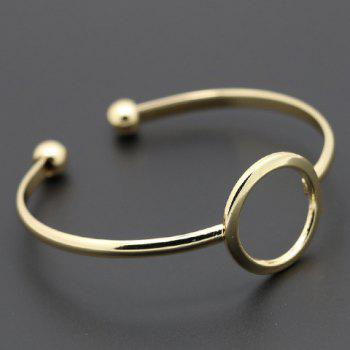 Round Hollow Out Cuff Bracelet