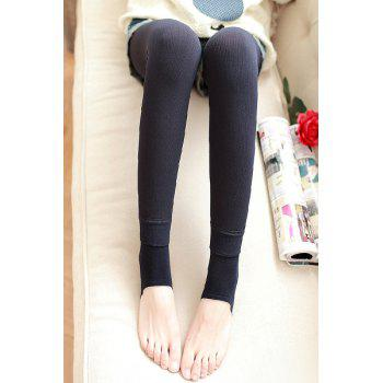 Women's Simple Solid Color High Waist Skinny Leggings