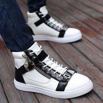 Trendy Buckle and Metal Design Casual Shoes For Men - 42 42