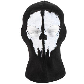 Stylish Ghost Pattern Mask Outdoor Men's Protective Headgear