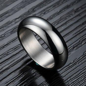 Round Alloy Ring - ONE-SIZE ONE-SIZE
