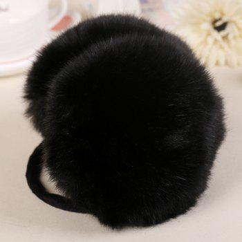 Chic Faux Fur Embellished Women's Warmth Downy Earmuff