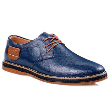 Simple Style Round Toe and Solid Color Design Formal Shoes For Men