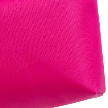 Cosmetic Candy Color Waterproof Zippered Makeup Bag -  ROSE