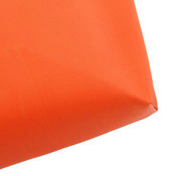 Cosmetic Candy Color Waterproof Zippered Makeup Bag -  ORANGE