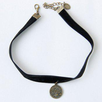 Vintage Punk Style Round Shape Choker Necklace