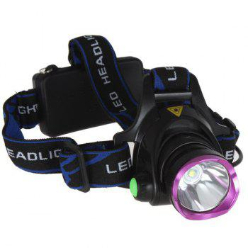 Outdoor Camping Cree XM-L T6 LED 1600 Lumen Scalable Headlight with 3 Modes for Night Cycling / Fishing