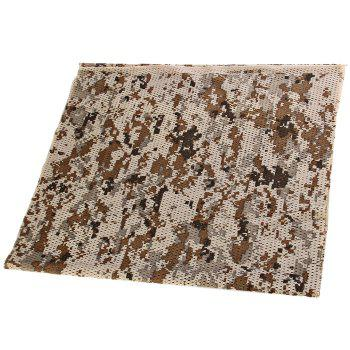 165 x 44cm Military Meshy Balaclava Scarf with Great Breathability for Outdoor Activities -  MARPAT DESERT