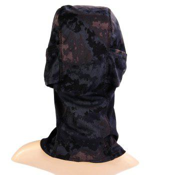Multi-use Camouflage Pattern Wrapped Head Cap Mask for Outdoor Cycling and Hiking - INK PAINTING