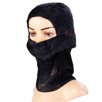 Multi-use Camouflage Pattern Wrapped Head Cap Mask for Outdoor Cycling and Hiking - INK PAINTING INK PAINTING