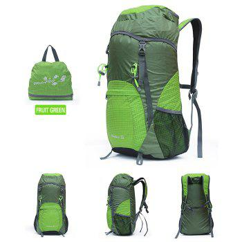 BOLANG Large 35L Lightweight Folding Backpack Double Shoulders Bag for Men / Women