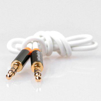 yellowknife Universal 1m 3.5mm Jack Audio Cable -  WHITE